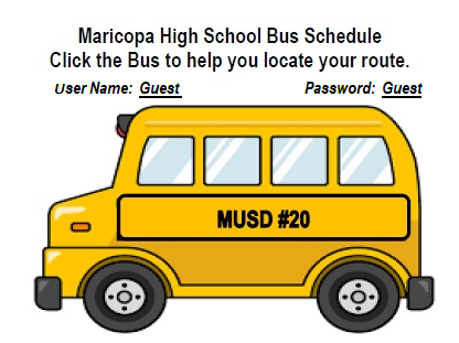 MHS Bus Schedule