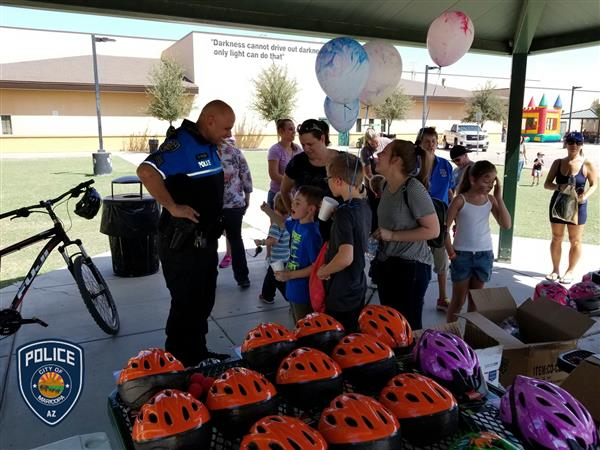 MPD With Kids at Copa Kids Day