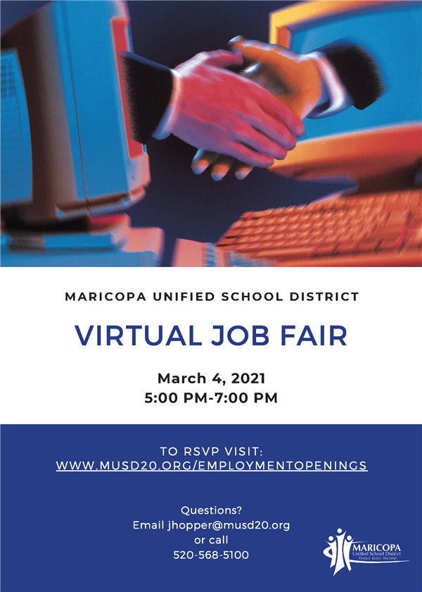 MUSD Announces a Virtual Job Fair