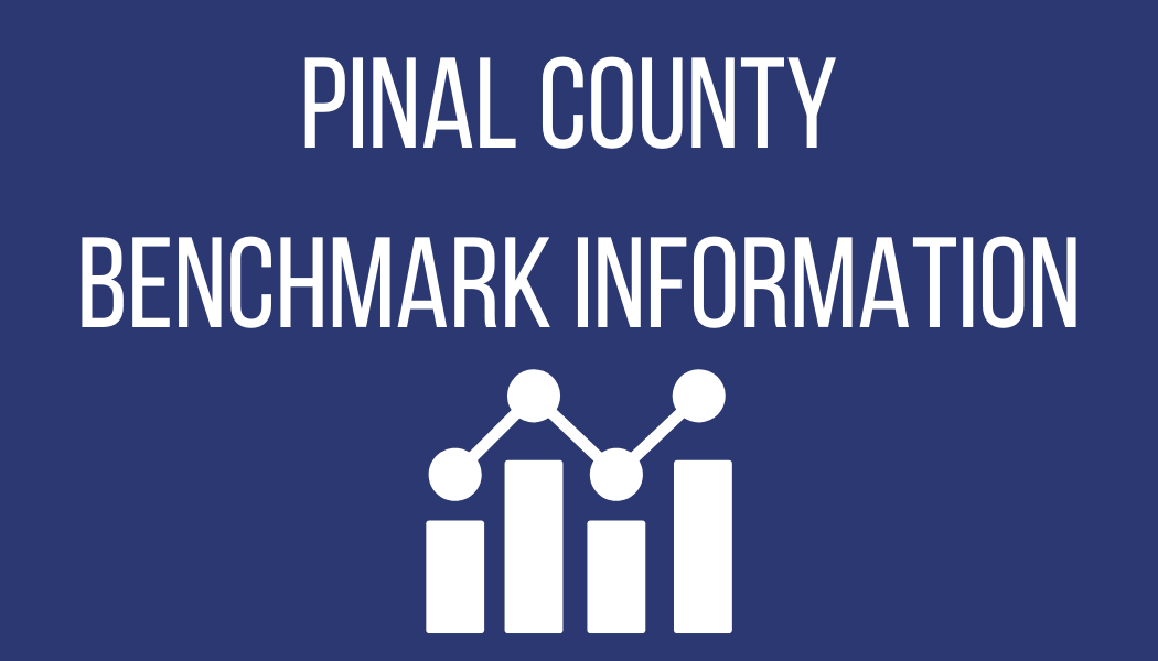 Pinal County Benchmark Information link opens a new window
