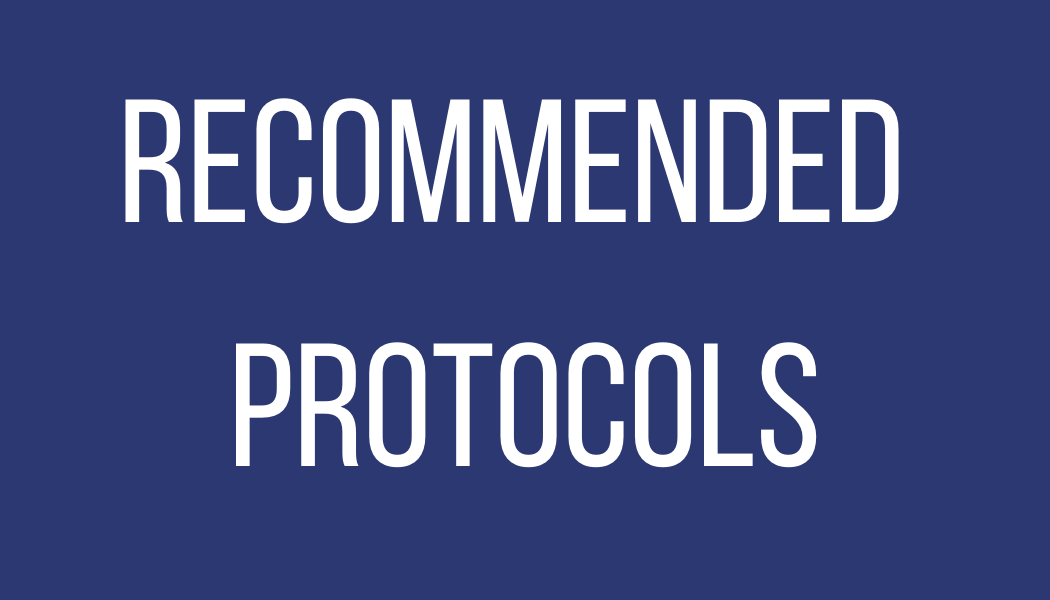 Recommended Protocols
